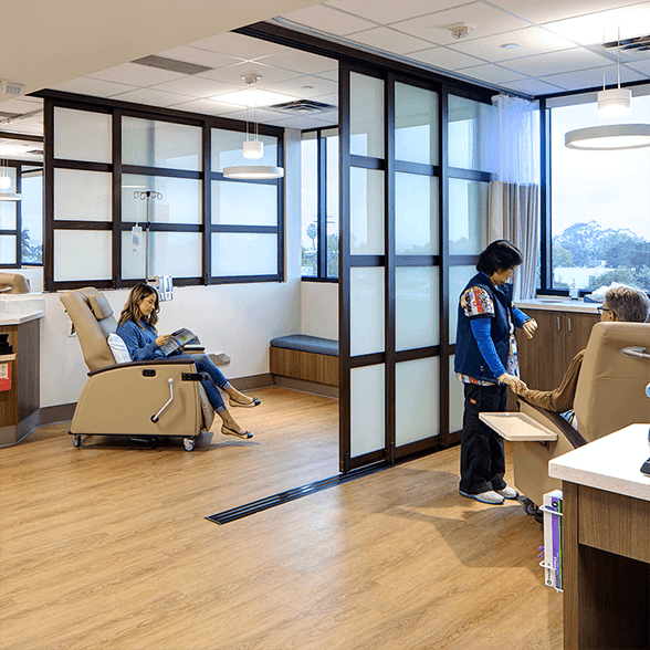Modern office space privacy wall dividers